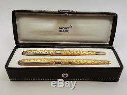 Montblanc Meisterstuck Artisan True Princess Fountain Pen & Ballpoint Pen Set