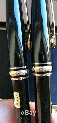 Montblanc Meisterstuck Classique Fountain Pen Plus Mechanical Pencil