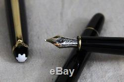 Montblanc Meisterstuck Classique Fountain Pen with Converter