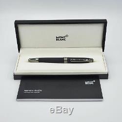 Montblanc Meisterstuck Classique Ultra Black Fine Fountain Pen 114826