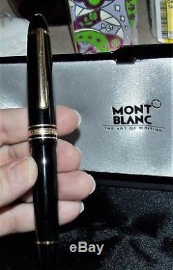 Montblanc Meisterstuck Fountain Pen 146 Nib 14K 4810 M WithBox Holland