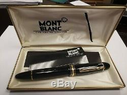 Montblanc Meisterstuck Fountain Pen 149M 2-Tone 14K Gold
