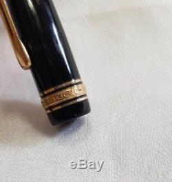 Montblanc Meisterstück Füller / Füllfederhalter / Pen 14k 585/- Gold/ Nr. OM 144