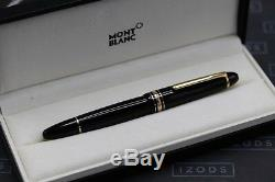 Montblanc Meisterstuck LeGrand 146 90 Years Red Gold Fountain Pen Serviced