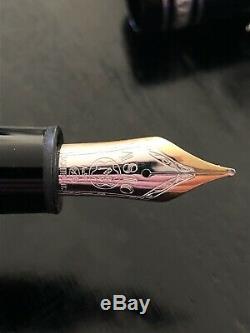 Montblanc Meisterstuck LeGrand 146 Platinum Line Fountain Pen Brand New