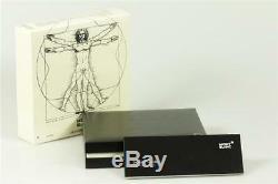 Montblanc Meisterstück Leonardo Sketch Pen No. 169 Platinum Line NEU + OVP