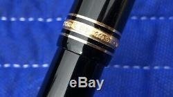 Montblanc Meisterstuck No. 149 14c 14k 585 4810 Nib Fountain Pen Made In Germany