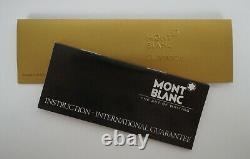 Montblanc Meisterstuck No 149 Black Fountain Pen & Box 14K Germany