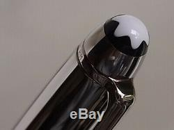 Montblanc Meisterstuck Solitaire Doue 164 Ballpoint Pen Stainless Steel Cap