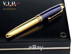 Montblanc Meisterstück Solitaire Ramses Ii. Le-grand Rollerball Pen Stylo Roller