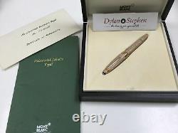 Montblanc Meisterstuck Solitaire Royal Legrand fountain pen over 4600 diamonds