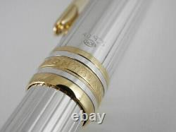 Montblanc Meisterstuck Solitaire Sterling Silver Rollerball Pen (Excellent)