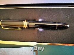 Montblanc Meisterstuck Stilo Modello 149 Pennino Oro 18 K 750 Perfetta Vintage