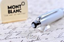 Montblanc Meisterstuck Tribute to the Mont Blanc White & Platinum Ballpoint Pen