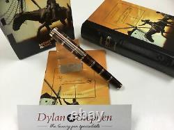 Montblanc Meisterstuck writers limited edition Miguel de Cervantes fountain pen