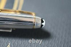 Montblanc Mozart solitaire silver fountain pen Sterling Silver 1148