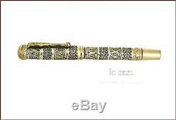 Montblanc N 2 14k R Gold Italian Filigree Safety Fountain Pen Semiramis 1930