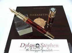 Montblanc Patron of the arts Queen Elizabeth 1 limited edition 888 fountain pen