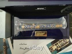 Montblanc Prince Regent Patron Art 4810 Sealed, Gold, Limited Edition New