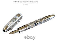 Montblanc Skeleton 333 Platinum P Limited Edition Fountain Pen 2001