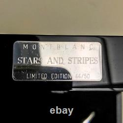 Montblanc Stars and Stripes Limited Edition Skeleton Fountain Pen