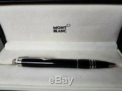 Montblanc Starwalker Ballpoint Pen Black With Chrome Trim
