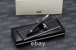 Montblanc Starwalker Black Platinum Resin Rollerball Pen NEW