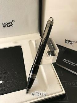 Montblanc Starwalker Midnight Black Ballpoint Pen and Notepad Set