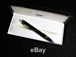 Montblanc Starwalker Midnight Black Resin Ballpoint Pen 105657 NEW IN BOX