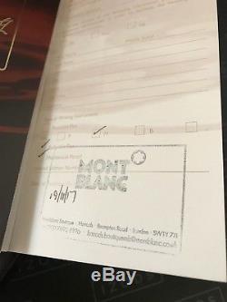 Montblanc Virginia Woolf Writers Limited Edition Set FP, MP, BP UNUSED NOV 17