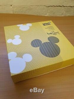 Montblanc Walt Disney Special Edition Fountain Pen BNIB M nib Mont Blanc