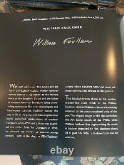 Montblanc Writers Edition Set William Faulkner