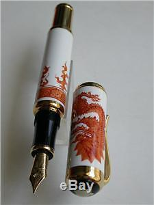 Montblanc Year Of The Golden Dragon Pen 888 Sealed