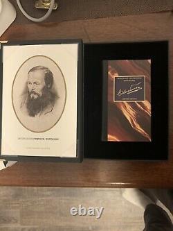 Montblanc autograph Set (P. Dostoevsky Fountain Pen) With Letter