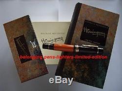 Montblanc ernest hemingway caneta mont blanc edição limitada