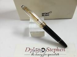Montblanc meisterstuck 146 legrand solitaire doue silver cap fountain pen