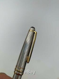 Montblanc meisterstuck solitaire sterling silver classique 164 ballpoint pen