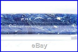N° 221 HIGH TOP series MONTBLANC SIMPLO Azurit Blue colored fountain pen 1935/36