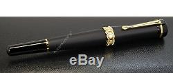 NEW Montblanc Bonheur Nuit Collection Shiny & Matte Fountain Pen (M nib) 117473