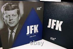 NEW Montblanc John F Kennedy JFK Special Edition Fountain Pen (Med nib) 111045