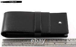 NEW Montblanc Leather Case / Etui Siena for 3 Pens in Black No. 14313