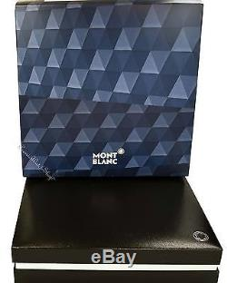 NEW Montblanc Meisterstuck Blue Hour Solitaire Le Grand Roller Ball Pen 112890