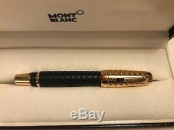 NIB $1160 Montblanc BOHÈME DOUE GOLD-PLATED FOUNTAIN PEN 36003