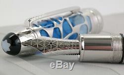 Neu Montblanc 149 Blue Hour Skeleton Füller Le Grand Mst Fountain Pen 113035 Ovp