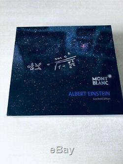 Neu Montblanc Albert Einstein Kuli Great Characters 2013 Ballpoint Pen Ovp Neu