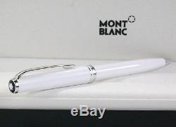 Neu Montblanc Cruise Collection Pix Kugelschreiber Weiss Ballpoint Pen White Ovp