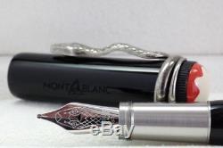 Neu Montblanc Heritage Collection Rouge Et Noir Füller Fountain Pen 114722 Ovp