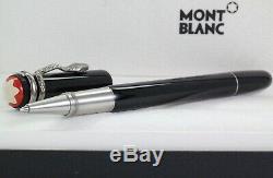 Neu Montblanc Heritage Collection Rouge Et Noir Rollerball Pen Ovp 114723
