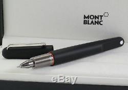 Neu Montblanc M Ultra Black Rollerball Marc Newson Artfineliner Pen 116563