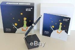 Neu Montblanc Midsize Le Petit Prince Fox Kugelschreiber Solitaire Ballpoint Pen